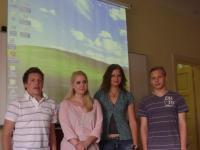 Účastníci První studentské knihovnické konference z 2. AK / Foto: Jana Kořínková