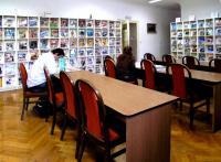 Severočeská vědecká knihovna v Ústí nad Labem - čítárna časopisů