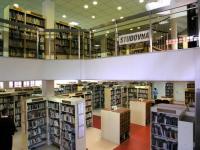 Severočeská vědecká knihovna v Ústí nad Labem - studovna