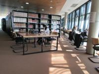 Knihovna Filozofické fakulty v Záhřebu - čítarna