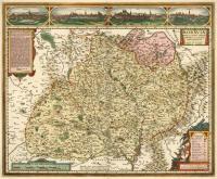 Komenského mapa Moravy Druhé, nedatované vydání Vischerovy mapy připravil zřejmě až třetí člen rodiny Visscherů Nicolaes mladší (1649-1702) ca po roce 1680.