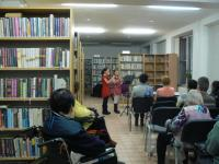 Koncert v knihovně - vystoupení Základní umělecké školy Arthura Nikische