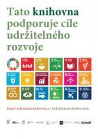 Udržitelnost v knihovnách - ikony