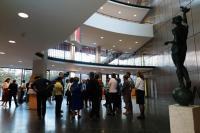 Libri speculum vitae - diskuze ve foyer knihovny