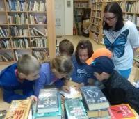 Noc s Andersenem v knihovně Lipůvka