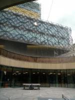 Library of Birmingham - výhled z hudebního oddělení