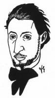Portrét Jiřího Mahena od Františka Gellnera