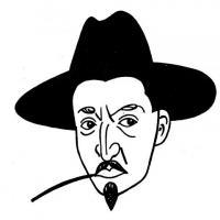 Portrét Jiřího Mahena od Josefa Lady