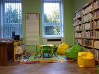 Místní knihovna Nový Přerov - dětský koutek, okres Břeclav