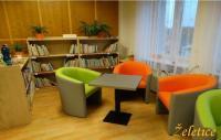 Místní knihovna Želetice, okres Hodonín