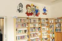 Nový mobiliář v Obecní knihovně Terezín, foto: Marie Krupičková