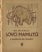 Obálka vydání z roku 1923, které ještě ilustroval Jaroslav Panuška. Zdroj Antikvariát Červený knír