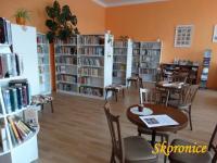 Obecní knihovna Skoronice - okres Hodonín