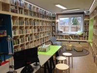 Obecní knihovna Úsobrno, interiéry, okres Blansko