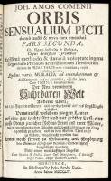 Orbis sensualium pictus. 2. díl. Norimberk 1754, foto: Vilém Kaplan