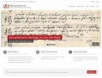 Základní stránka Manuscriptoria (www.manuscriptorium.cz)