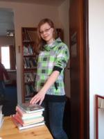 Městská knihovna Olešnice: Největší čtenářka Ester