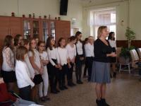 Oslava mezinárodního dne seniorů - pěvecký sbor Děti z Jevišovic