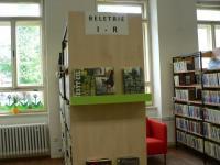 Interiér knihovny, foto: M. Švejcarová