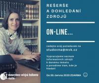 Rešeršní služby knihovny
