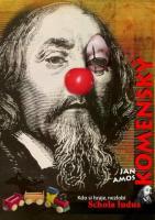 Plakáty žáků školy AVE ART Ostrava, vyrobené u příležitosti výstavy v Naardenu o životě a díle Jana Amose Komenského.