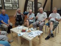 Pracovní setkání skupiny Město v mé paměti