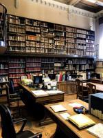 Pracovní zátiší knihovnických pracovníků v Biblioteca Universitaria di Padova