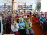 Pravidelné návštěvy dětí z mateské školy ve Ždánicích