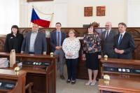 Předávání ocenění Kominitní knihovna 2021