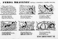 První setkání s Ferdou Mravencem. Lidové noviny, 1. 1. 1933. Zdroj Digitální knihovna Moravské zemské knihovny v Brně