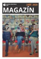 Obálka magazínu knihovny