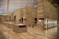 Qatar National Library - přízemí, vzácné tisky