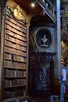 Rakouská národní knihovna - interiér, foto: Petra Dvořáková