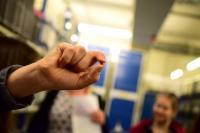 Rakouská národní knihovna - nejmenší kniha, foto: Petra Dvořáková