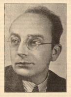 Stanislav Rambousek, knihovník města Jihlavy, iniciátor a jednatel SVOK. Foto Osvětová Morava, 1937.
