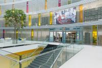 Knihovna Univerzity Tomáše Bati ve Zlíně - vstup