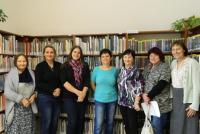 Setkání knihovnic knihovnického střediska Jižní Svahy v roce 2017