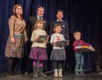 Slavnostní vyhlášení v Divadle Polárka dne 3. 12. 2017