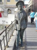 Socha Jamese Joyce v Terstu