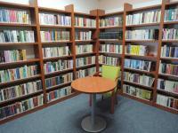 Střítež nad Bečvou - knihovna po vyřazování dokumentů