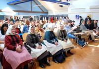 Účastníci konference v Městské knihovně Břeclav