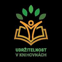 Udržitelnost v knihovnách - logo