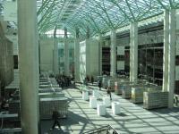 Biblioteka Uniwersytecka w Warszawie - ústřední hala