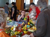 Velikonoční tvroření klubu aktivních seniorů