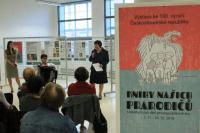 Vernisáž výstavy se konala 31. října 2018, úvodní slovo měla paní ředitelka knihovny PhDr. Zdeňka Friedlová, hudebně pořad doprovodil nadaný