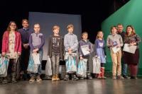 Vyhlášení výsledků soutěže v Divadle Polárka