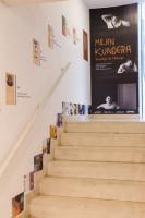 Výstava Milana Kundery v Českém centru v Paříži, foto: Tereza Nováková