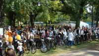 Ždánický histopedál - akce, na které se organizačně podílí infocentrum, partnerské obce z Rakouska, Slovenska, Vrbasovo muzeum a město Ždánice