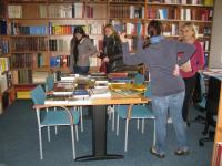 Exkurze v knihovně
