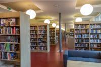 Interiér knihovny - oddělení pro dospělé